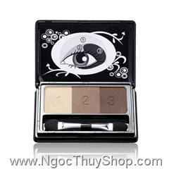 Hộp phấn mắt Oriflame Beauty Smoky Collection – Eye Shadow Trio (18342)