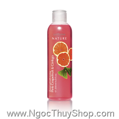 Gel tắm Oriflame Shower Gel with Toning Pink Grapefruit & Ginkgo (14049)