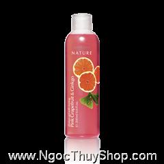 Gel tắm Oriflame Shower Gel with Toning Pink Grapefruit & Ginkgo (14049)