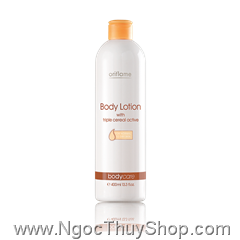 Sữa dưỡng thể Oriflame Body Lotion with triple cereal active (15586)