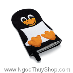 Bao da mát xa khi tắm Oriflame Penguin Wash Glove (22162)