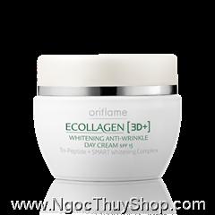 Kem làm trắng da ban ngày Ecollagen (3D+) Whitening Anti-Wrinkle Day Cream SPF 15 (17533)