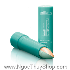Che khuyết điểm Oriflame Pure Natature Organic Tea Tree & Rosemary Purifying Corrective Stick (21351)