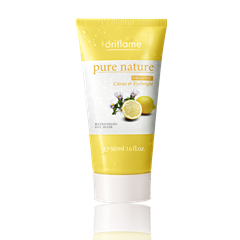 22487 - Mặt nạ dưỡng da Oriflame Pure Nature Organic Citrus & Eyebright Refeshing Gel Mask (22487)