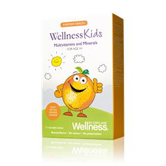 Oriflame 22465 - Thực phẩm bổ sung dinh dưỡng Oriflame Wellness Kids Multivitamins and Minerals (22465 Oriflame)