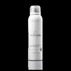 Oriflame 23727 - Xịt khử mùi Oriflame Activelle Anti-perspirant 24h Deodorant Invisible SPRAY (23727 Oriflame)