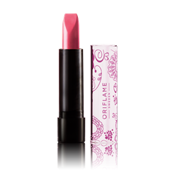 Oriflame 24058 - Son môi Pure Colour Floral Lipstick - Cherry Red (24058 Oriflame)