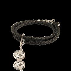 Oriflame 25186 - Vòng đeo tay Charity Bracelet Black (25186 Oriflame)