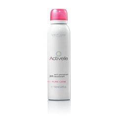 Oriflame 23719 - Xịt khử mùi Oriflame Activelle Anti-perspirant 24h Deodorant Pure Care SPRAY (23719 Oriflame)