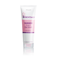 Oriflame 23754 - Gel rửa mặt Oriflame Pure Essentials Fairness 5 in 1 Gel Wash (23754 Oriflame)
