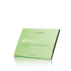 Oriflame 23815 - Giấy thấm dầu cho da Oriflame Optimals Matte Touch Face Blotting Tissues (23815 Oriflame)