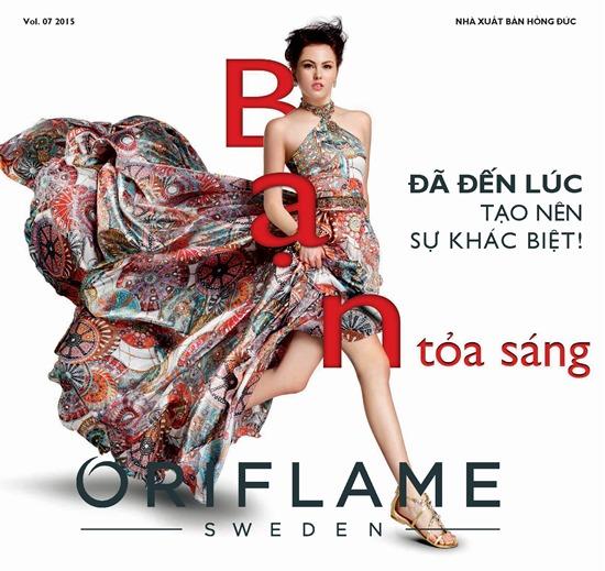 Catalogue Mỹ Phẩm Oriflame 7-2015