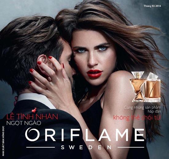 Catalogue mỹ phẩm Oriflame tháng 2-2016