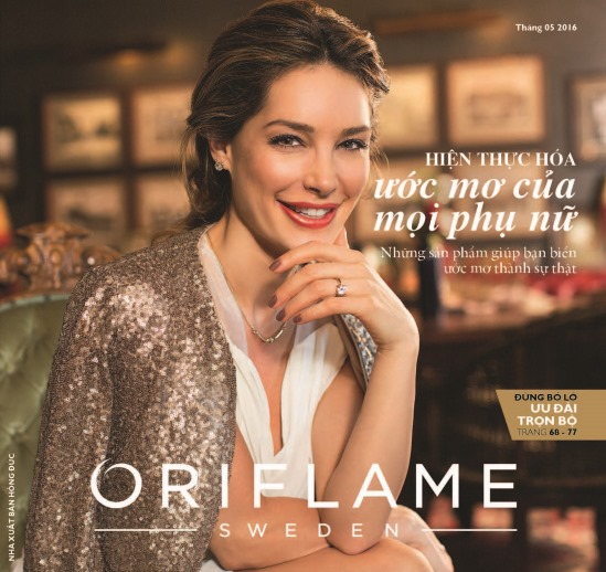 Catalogue mỹ phẩm Oriflame tháng 5-2016