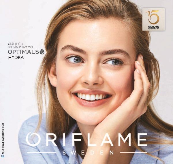 Catalogue mỹ phẩm Oriflame 5-2018